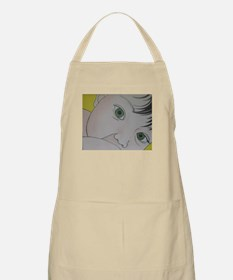 green eyes nursing BBQ Apron