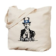 Cute African americans for obama Tote Bag