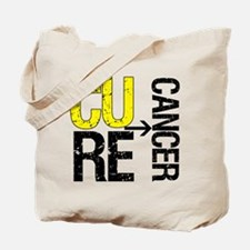Cure (Sarcoma) Cancer Tote Bag