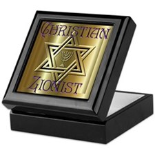 Christian Zionist 2 Keepsake Box