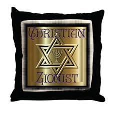 Christian Zionist 2 Throw Pillow