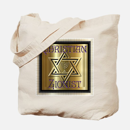Christian Zionist 2 Tote Bag