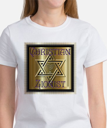 Christian Zionist 2 Women's T-Shirt