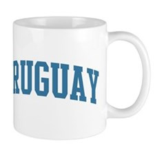 Uruguay (blue) Mug