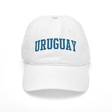 Uruguay (blue) Baseball Cap