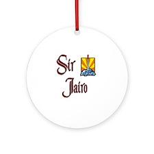 Sir Jairo Ornament (Round)