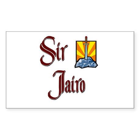 Sir Jairo Rectangle Sticker