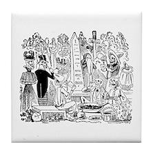Calavera Gran Comeliton Tile Coaster