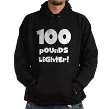 100 Pounds Lighter Hoodie