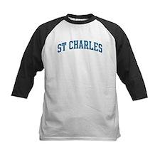 St Charles (blue) Tee
