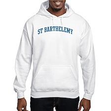 St Barthelemy (blue) Hoodie