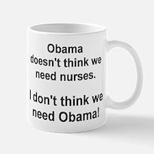 Obama doesn't Mug
