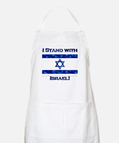 I Stand With Israel BBQ Apron