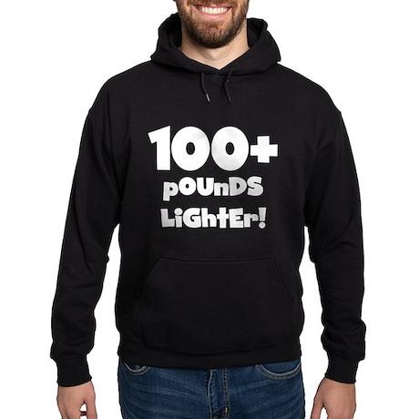 100 Plus Pounds Hoodie (dark)