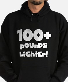 100 Plus Pounds Hoodie (dark)