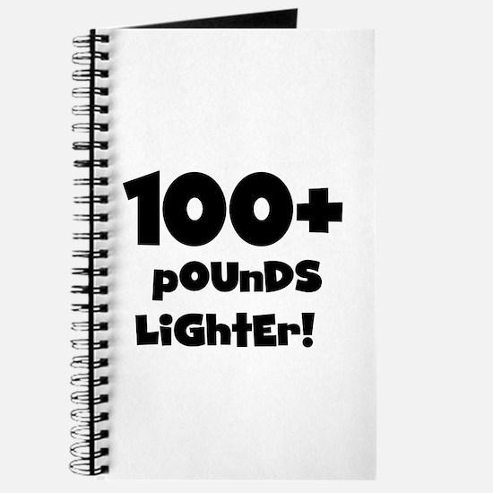 100 Plus Pounds Journal
