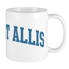 West Allis (blue) Mug