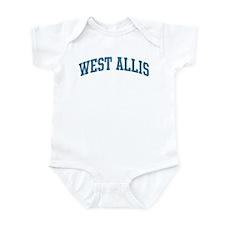 West Allis (blue) Infant Bodysuit