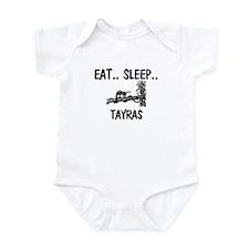 Eat ... Sleep ... TAYRAS Infant Bodysuit