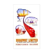 Broadway Limited PRR Rectangle Decal