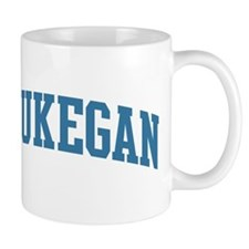 Waukegan (blue) Mug