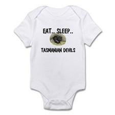 Eat ... Sleep ... TASMANIAN DEVILS Infant Bodysuit