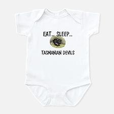 Eat ... Sleep ... TASMANIAN DEVILS Infant Bodysuit