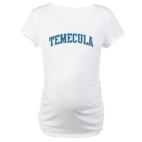 Temecula (blue) Maternity T-Shirt
