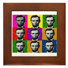 Famous Dead People Framed Tile