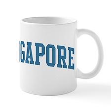 Singapore (blue) Mug