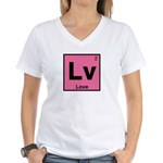 Element of Love Women's V-Neck T-Shirt