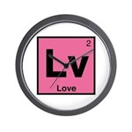 Element of Love Wall Clock