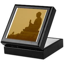 brown buddha Keepsake Box