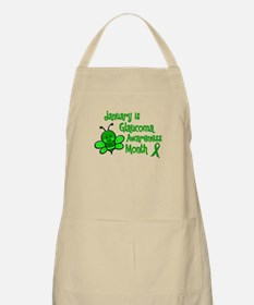 Glaucoma Awareness Month BEE 3 BBQ Apron