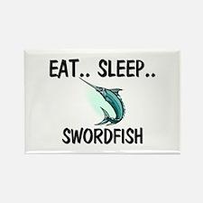 Eat ... Sleep ... SWORDFISH Rectangle Magnet