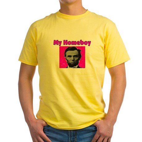More Lincoln Yellow T-Shirt