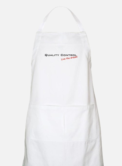 Quality Control / Dream! BBQ Apron