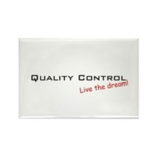 Quality Control / Dream! Rectangle Magnet