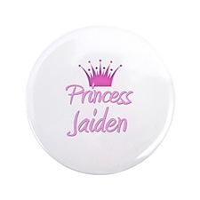 """Princess Jaiden 3.5"""" Button"""