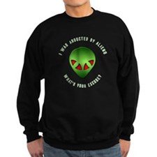 Alien Abduction Sweatshirt