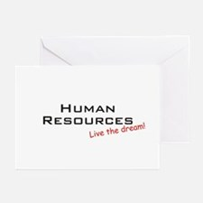 Human Resources / Dream! Greeting Cards (Pk of 10)