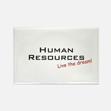 Human Resources / Dream! Rectangle Magnet