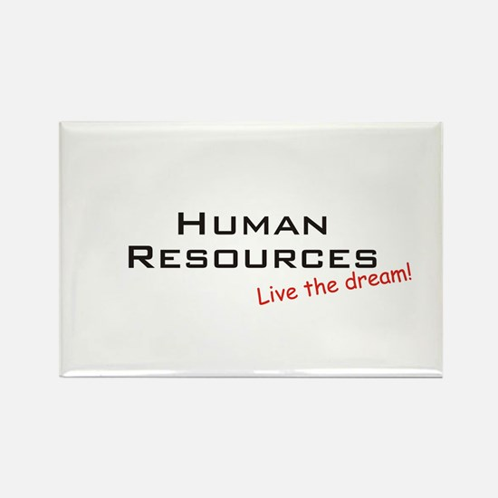 Human Resources / Dream! Rectangle Magnet (10 pack