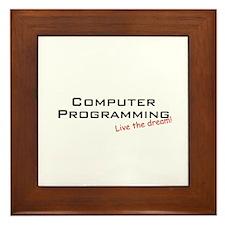 Programming / Dream! Framed Tile