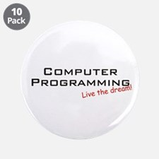 "Programming / Dream! 3.5"" Button (10 pack)"
