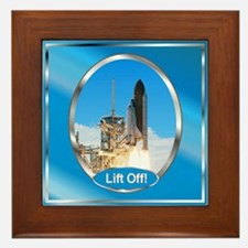 Lift Off! Framed Tile