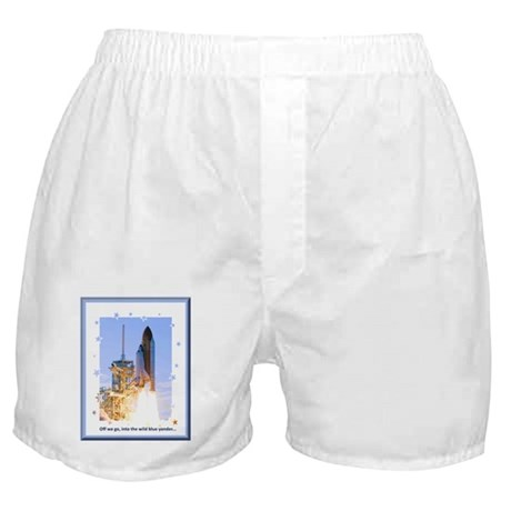Lift Off! Boxer Shorts