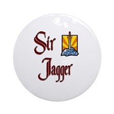 Sir Jagger Ornament (Round)