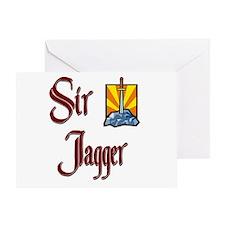 Sir Jagger Greeting Card