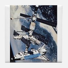 International Space Station Tile Coaster